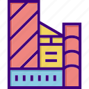 building, construction, estate, home, house, mall, office icon