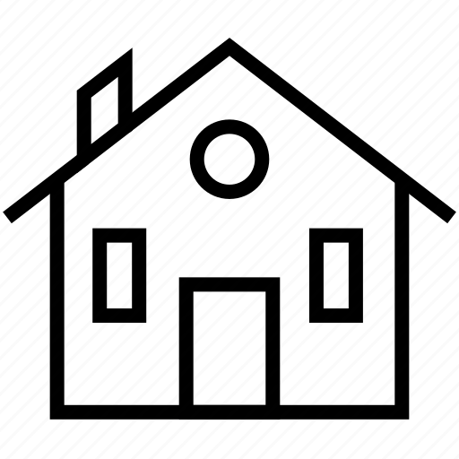 building, estate, home, house, office, property, real icon