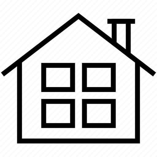 building, business, construction, estate, home, house, office icon