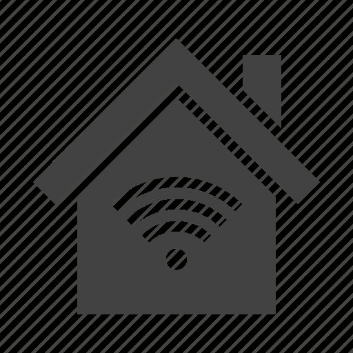 home, house, internet, wifi icon