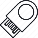device, houseware, usb flash icon