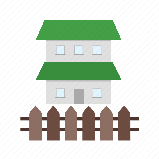 fence, garden, house, nature, outdoor, wood, yard icon