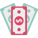 cash, dollar, money, rupees icon