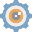 evaluation, investigation, monitoring, observation icon