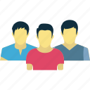 group, men, people, together icon