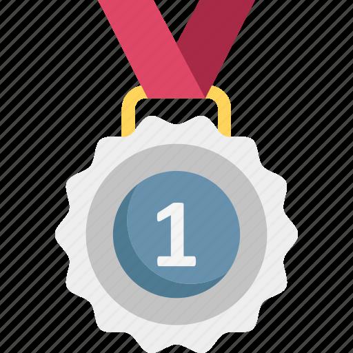 achievement, award, medal, pendant icon