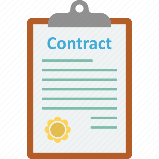 agreement, clipboard, contract, contract page icon