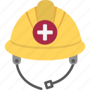 hard hat, hat, helmet, protection icon