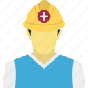 developer, engineer, labour, technicians icon
