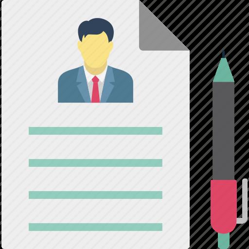 agreement, company document, contract, employee document icon