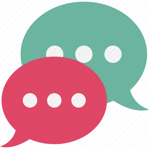 chat bubbles, consultation, conversation, discussion icon