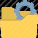 business data management, data maintenance, files management, folder management icon