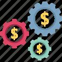 economic development, financial management, financial planning, money management icon