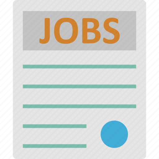 agreement, application, contract papers, job application icon