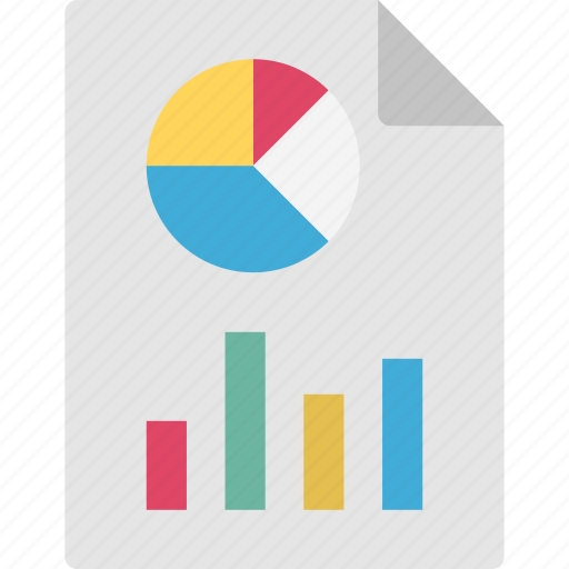 analysis, business data, business report, pie chart graph icon