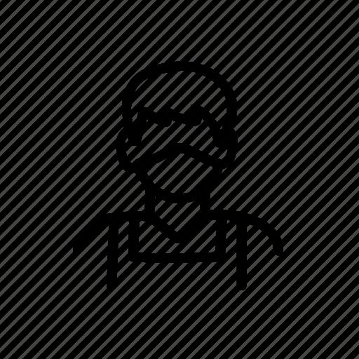 Avatar, face, mask, salesman icon - Download on Iconfinder