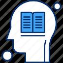 book, brain, human