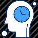 brain, clock, human