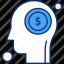 brain, dollar, human
