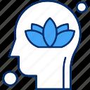 brain, flower, human