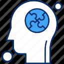 brain, human, puzzle