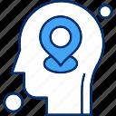 brain, human, map