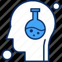brain, human, test tube