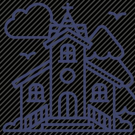 Church, religion, christian, faith icon - Download on Iconfinder