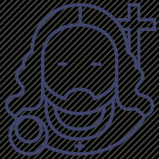 Jesus, christ, christian, sacrifice icon - Download on Iconfinder