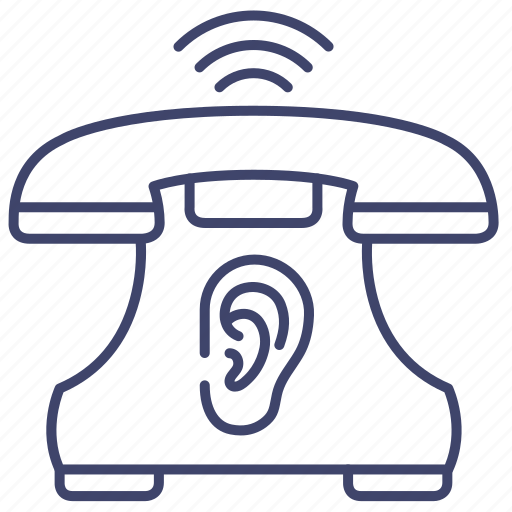 Wiretapping, device, surveillance, phone icon - Download on Iconfinder