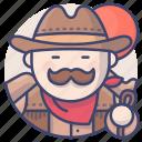 cowboy, western, wild, sheriff