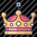 crown, king, emperor, royal