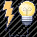 electricity, power, bulb, light