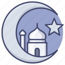 islam, muslin, crescent, religion