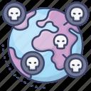 plague, disease, infection, global