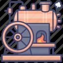 steamer, industrial, revolution, steam