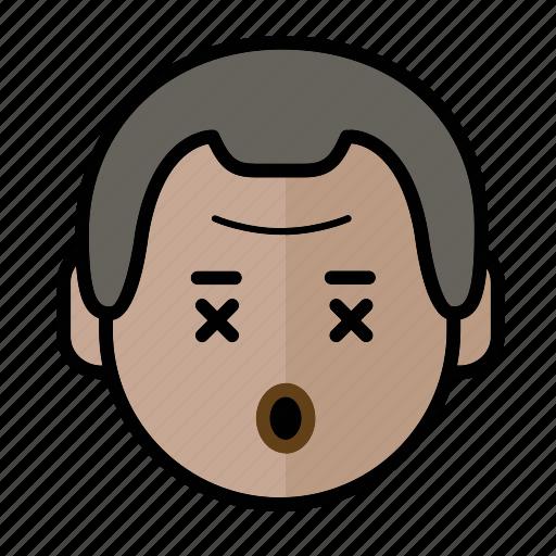 danger, emoji, human face, man1 icon