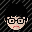 angry, emoji, human face, man2 icon