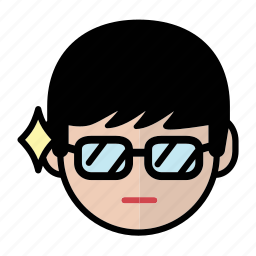 emoji, human face, man2, smart icon
