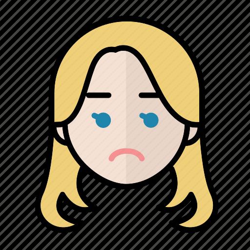 emoji, human face, notgood, woman2 icon