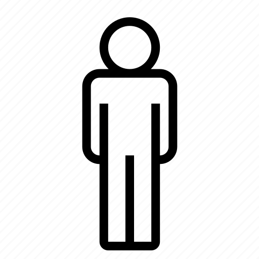 figure, guy, human, man, people, person, standing icon