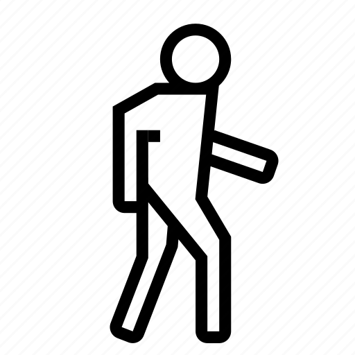 human, man, moving, pedestrian, person, walk, walking icon