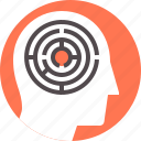 brain, complex, confusion, difficulties, games, mental, mind icon