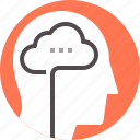 brain, human, man, mind, person, psychology icon