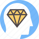human, improvement, masterpiece, mental, personal, quality, result icon