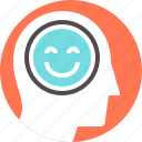 cheerful, face, happiness, happy, mood, person, smile icon