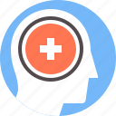 disorder, treatment, psychology, brain, health, mental, therapy icon