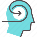 cognition, education, insight, mental, study, suggestion, understanding icon