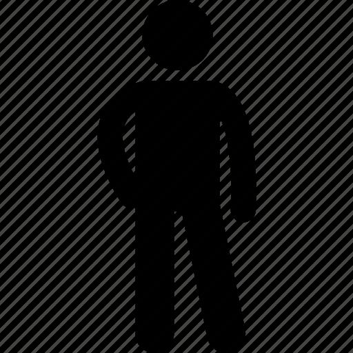 human, man, people, pose, posing, posture, standing icon