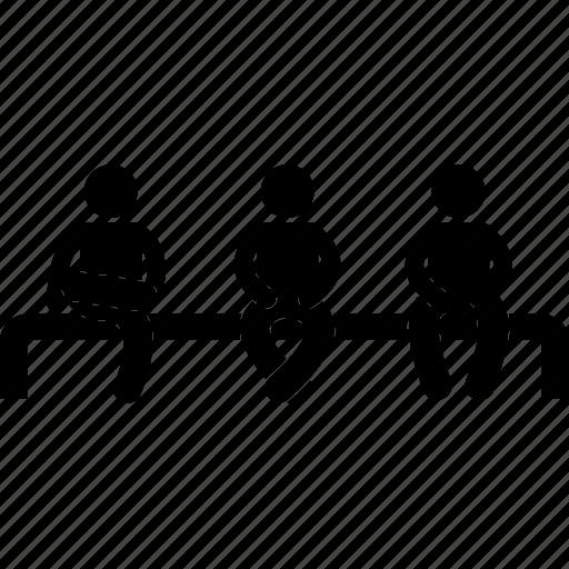 crosslegs, human, man, people, pose, sitting, waiting icon